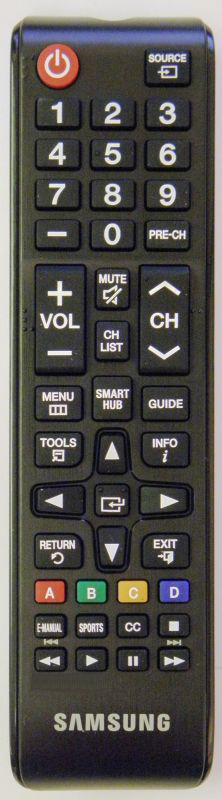 REMOTE CONTROL FOR SAMSUNG TV HP-T5054 HPT5054X//XAA Replacement